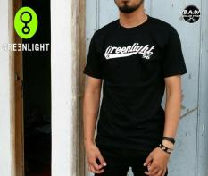 Distro/Kaos/Baju/T-Shirt/GREENLIGHT POLY WHITE