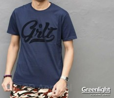 Distro/Kaos/Baju/T-Shirt/GRLT GREEN 1996 LIGHT FLOCKING SERIES