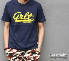 Distro/Kaos/Baju/T-Shirt/GRLT GREEN LIGHT 1996 FLOCKING SERIES