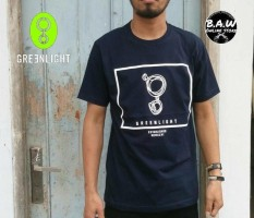 Distro/Kaos/Baju/T-Shirt/LOGO GREENLIGHT GRLT