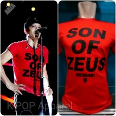 Distro/Kaos/Baju/T-Shirt/SON OF ZEUS GREENLIGHT