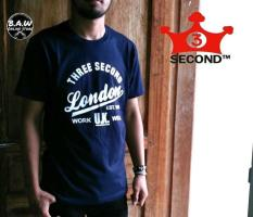 Distro/Kaos/Baju/T-Shirt/UK 3Second