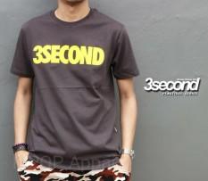 Distro/Kaos/Baju/T-Shirt/YELLOW 3SECOND