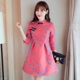 Ulasan Lengkap Tentang Ditingkatkan Rok Cheongsam Cina Dan Bagian Panjang Gambar Warna Baju Wanita Dress Wanita Gaun Wanita