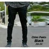 Pusat Jual Beli Divajaya Shop Celana Panjang Chino Pria Slim Fit Hitam Jawa Barat