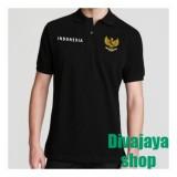 Beli Divajaya Shop Kaos Polo Pria Indonesia Hitam Kredit Jawa Barat