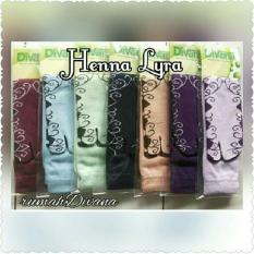 Promo Divana Kaoskaki Henna Lyra 1 Set 12 Pasang Warna Random Divana
