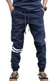 Spesifikasi Djavu Celana Jogger Chino Schepter Navy Strip White Best Seller Djavu Terbaru