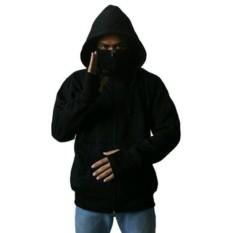 Review Djavu Gnz Jaket Ninja Hoodie Hitam Djavu Di Jawa Barat