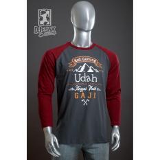 Harga Djejak Clothing Tshirt Kaos Adventure Unisex Lengan Panjang Kaos Naik Gaji Merk Djejak Clothing