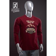 Djejak Clothing Tshirt Kaos Adventure Unisex Lengan Panjang Kaos Rinjani Murah