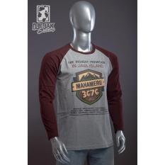 Harga Termurah Djejak Clothing Tshirt Kaos Adventure Unisex Lengan Panjang Mahameru