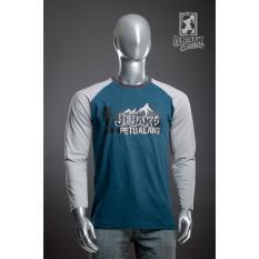 Dapatkan Segera Djejak Clothing Tshirt Kaos Adventure Unisex Lengan Panjang New Jejak Petualang