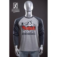 Toko Djejak Clothing Tshirt Kaos Adventure Unisex Lengan Panjang Pendaki Indonesia Djejak Clothing Online