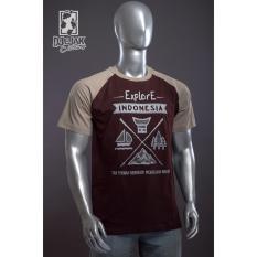 Top 10 Djejak Clothing Tshirt Kaos Adventure Unisex Lengan Pendek Explore Indonesia Baru Online