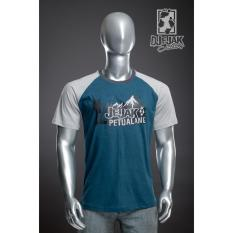 Spesifikasi Djejak Clothing Tshirt Kaos Adventure Unisex Lengan Pendek New Jejak Petualang Terbaru