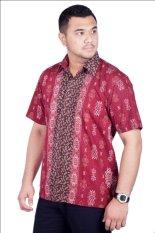 Jual Djoeragan Batik Modern Lk302 Hem Kantor Pria Laki Cowo Import