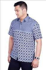 Djoeragan Batik Modern LK306 (Hem Kantor Pria Laki Cowo)