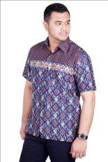 Djoeragan Batik Modern LK310 (Hem Kantor Pria Laki Cowo)