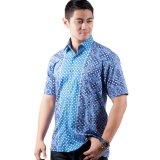 Spesifikasi Djoeragan Kemeja Batik Modern Lk203 Biru Dan Harga