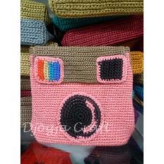Djogja Craft Tas Rajut Instagram - Pink