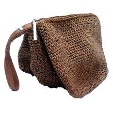 Djogja Klasik Craft Dompet Rajut Tribel - Coklat