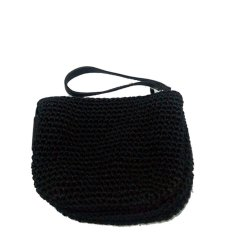 Djogja Klasik Craft Dompet Rajut Tribel - Hitam