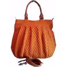 Home; Djogja Klasik Craft Tas Rajut Kendi - Orange