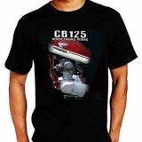 Harga Djogja Klasik Kaos Motor Honda Cb 125 Mesin Origin