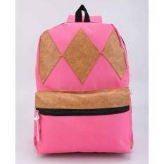Dksh Tas Sekolah Ransel Punggung Anak Perempuan Cewek Warna Pink CYD