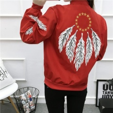 DM Print Feather Pilot Jaket-Intl