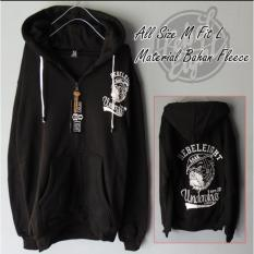 DMXS - Jaket Sweater Distro Hoodie Zipper Sablon Rebel 8 Under Dogs
