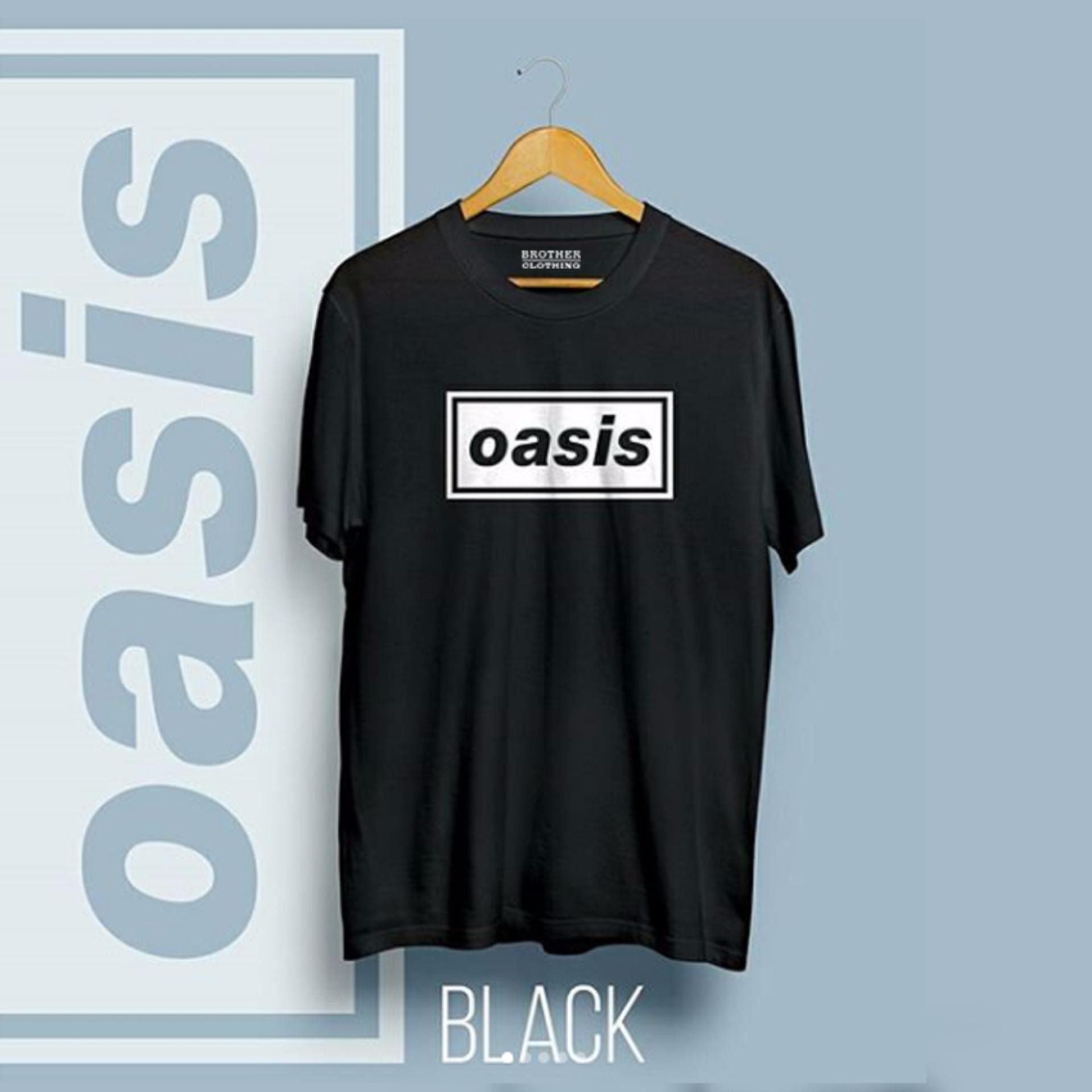 Do More Store Kaos Distro Band Musik - OASIS Black Premium