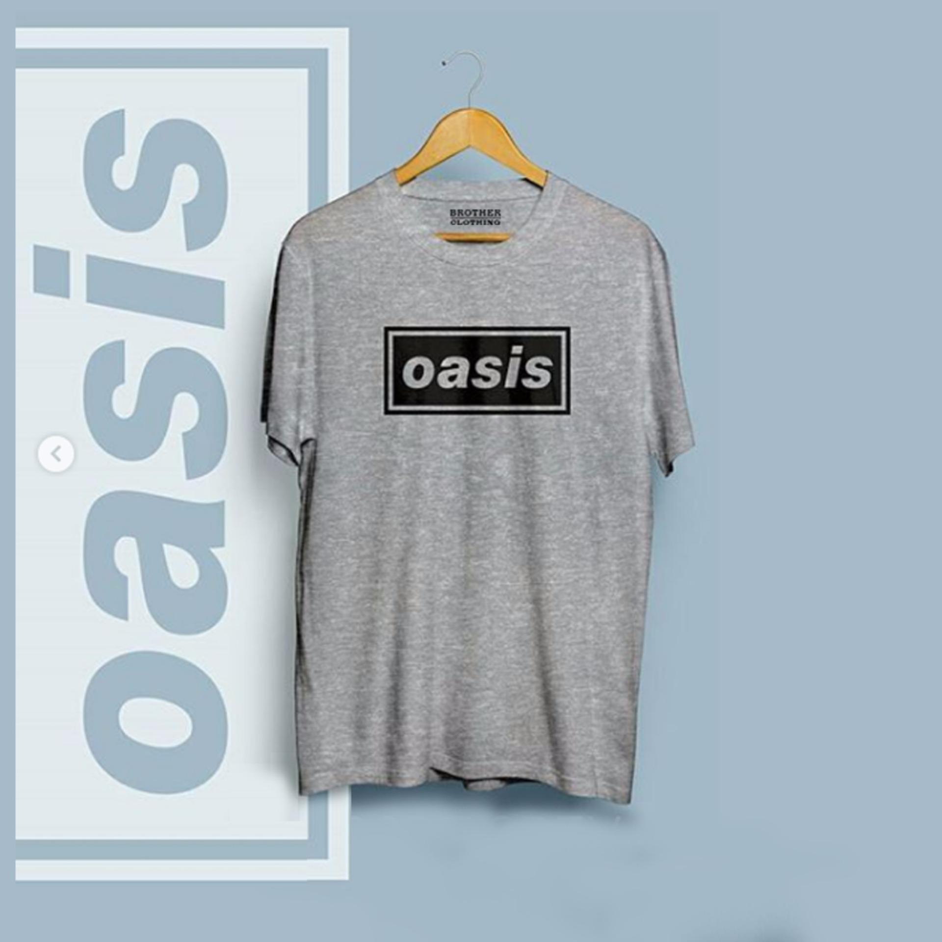 INC Tumblr Tee / T-Shirt / Kaos Wanita Stay Simple - Navy Do More Store Kaos Distro Band Musik - OASIS Black Premium