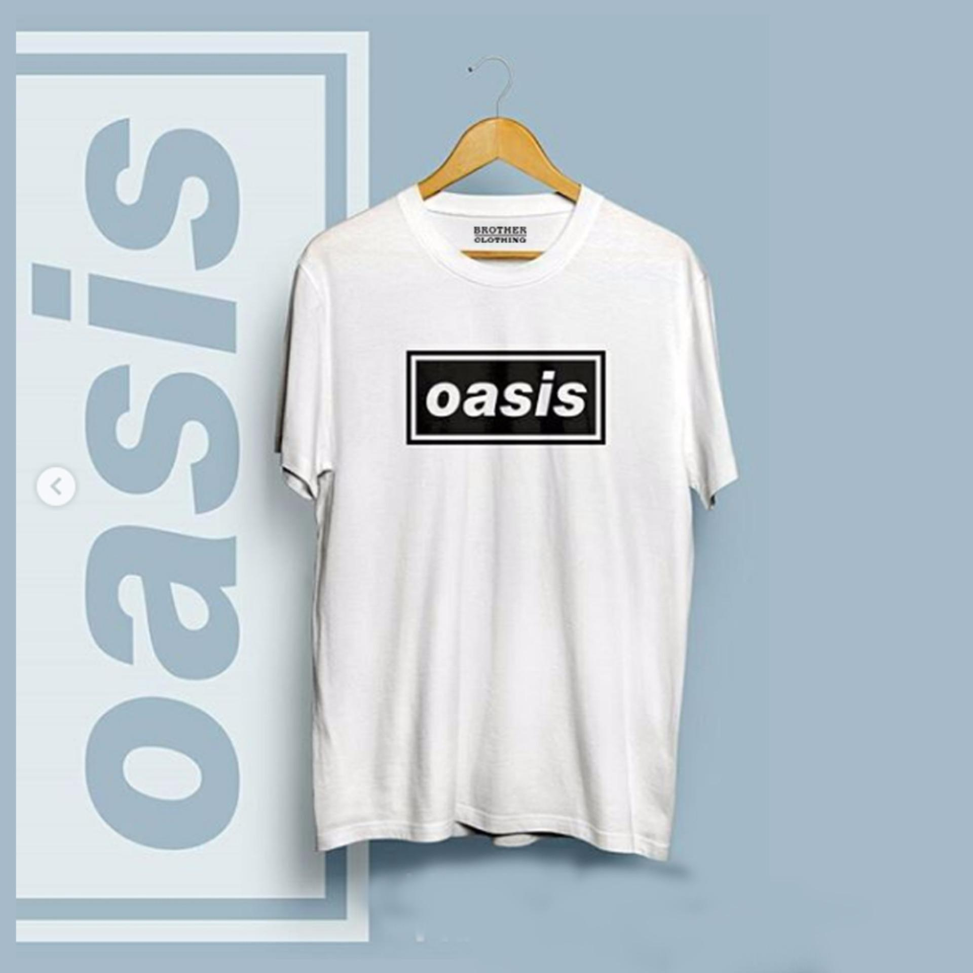 ... Do More Store Kaos Distro Band Musik - OASIS Black Premium