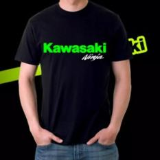 Spesifikasi Do More Store Kaos Distro Kawasaki Ninja Yellow White Black Premium
