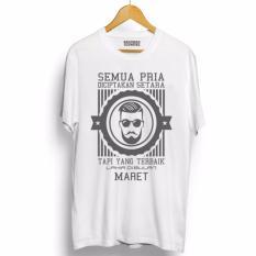 Do More Store Kaos Distro Pria Terbaik Lahir Maret Abu Abu Premium Do More Store Diskon