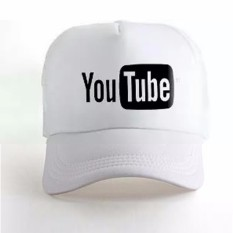 Promo Do More Store Topi Trucker Youtube Black White Premium Akhir Tahun