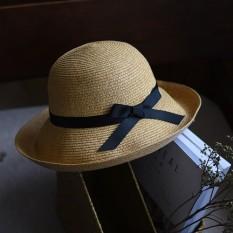 Kubah Di Lumba-lumba Rumah Menyembunyikan Matahari Topi Menenun Topi Jerami Topi Korea Di Musim Panas Perempuan 100 Mengambil topi Topi Nelayan Jepang Gaya Lipat-Internasional