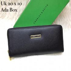 Dompet charles and keith ck flip zip  ada box