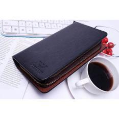 Harga Dompet Cowok Pria Kulit Import Black Online