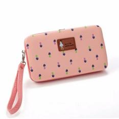 Review Dompet Hp Jimshoney Lady Floral Wallet Softpink Di Indonesia
