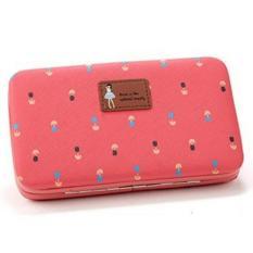 Jual Dompet Hp Jimshoney Lady Floral Wallet Peach Branded Original