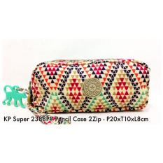 Dompet Import Kipling Pencil case 2Zip 2388P  34