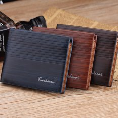 Dompet IMPORT Premium Pria limited edition SM 006 Brown