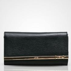 Dompet Import Wanita Jims Honey Kqueenstar - Black