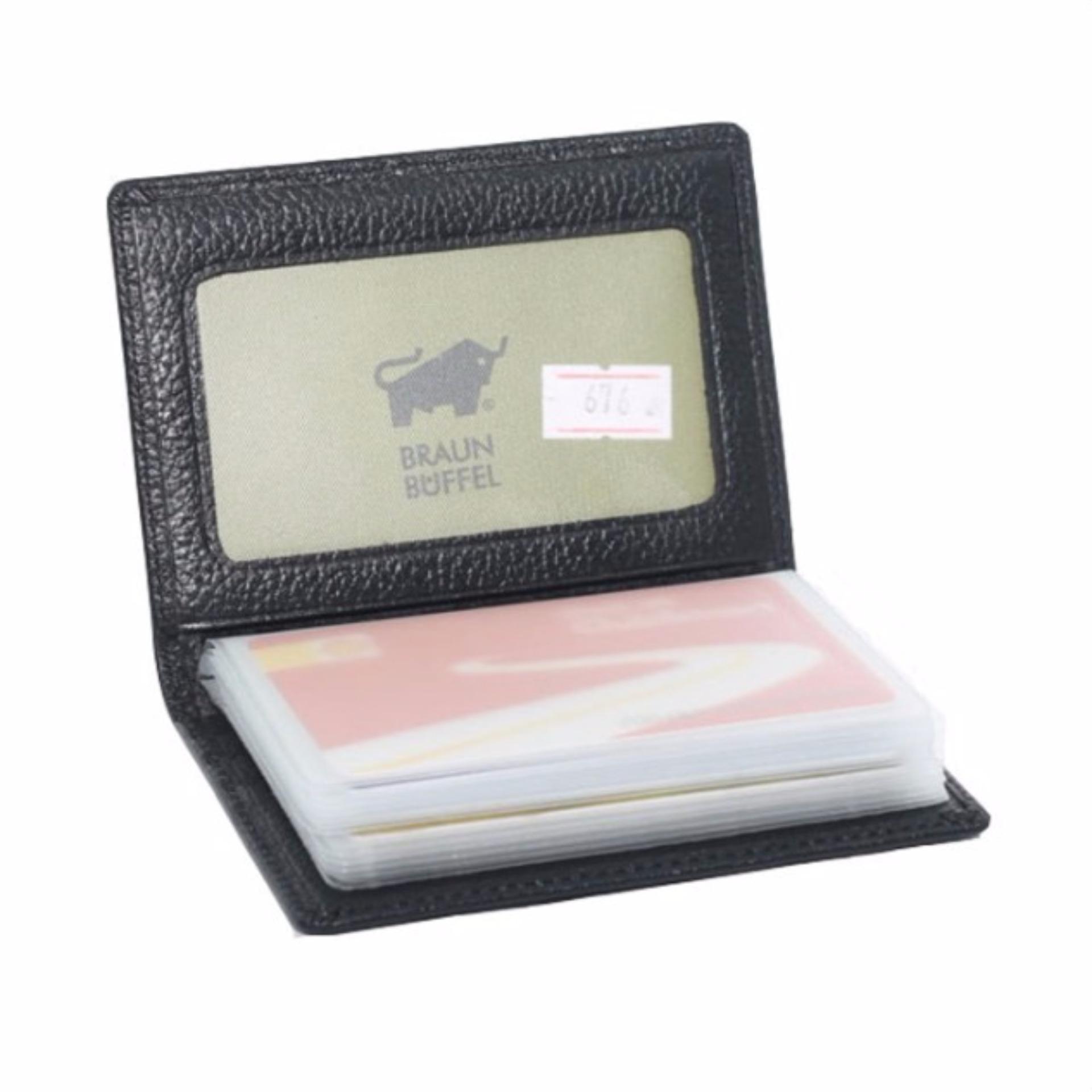 Pencarian Termurah Dompet Kartu Kulit BRAUNBUFFEL DKR2B 15 Slot Card harga penawaran - Hanya Rp143.850