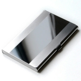 Jual Dompet Kartu Nama Card Holder Stainless Steel Mirror Satu Set