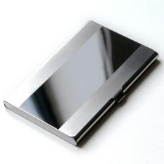 Beli Dompet Kartu Nama Card Holder Stainless Steel Mirror Bostanten Asli