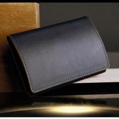 Harga Dompet Kartu Nama Id Card Holder Genuine Leather Kulit Asli Original Import Banten